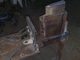 Механический (пружинный) дровокол своими руками: чертежи 61